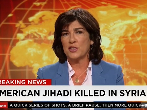 Christiane Amanpour: Brits Believe 'Only a Matter of Time' Before ISIS Hits West