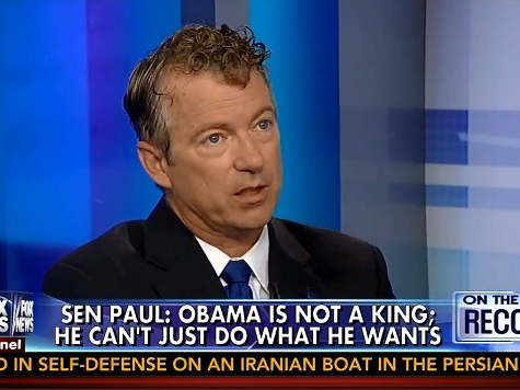 Rand Paul: Obama 'Can't Just Do What He Wants. He Is Not a King'