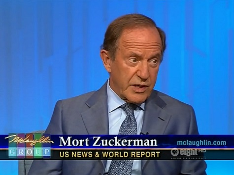 Zuckerman: Obama 'Has Lost the Confidence of the Business Community'