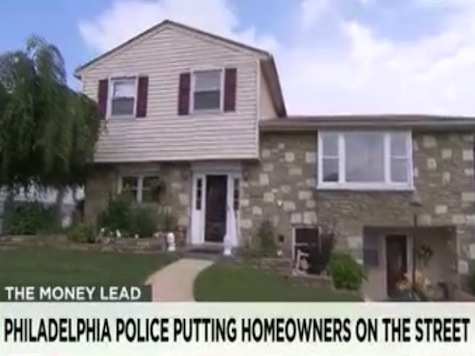 Report: Philadelphia Police Confiscating Thousands of Families Homes
