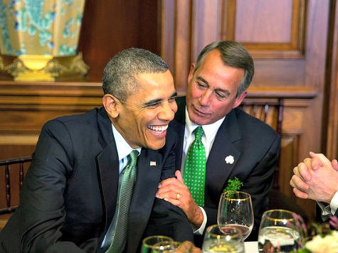 Boehner: Obama Could Get Immigration Reform 'Next Year'