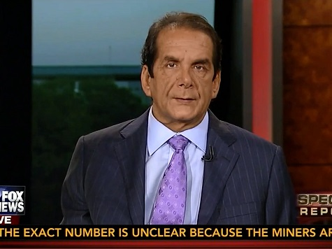Krauthammer: Obama Is 'a Man in Denial on the Verge of Delusion' on Terrorism