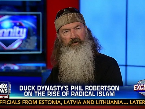 Phil Robertson on ISIS: 'Convert Them or Kill Them'
