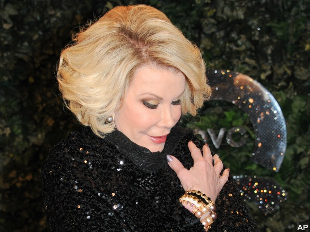Joan Rivers on Life Support Days After Surgery Complications