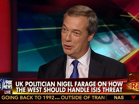 Farage: UK's ISIS Problem Attributable to 'Four Decades of State-Sponsored Multiculturalism'