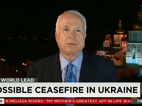 McCain: After Taking Ukraine, Putin Will Turn to Moldova, the Baltic States