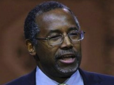 Ben Carson: If Obama Can't Even Say The Word 'War,' How Can He Fight It?