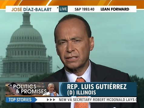 Gutierrez: Obama Hiding From Voters on Immigration
