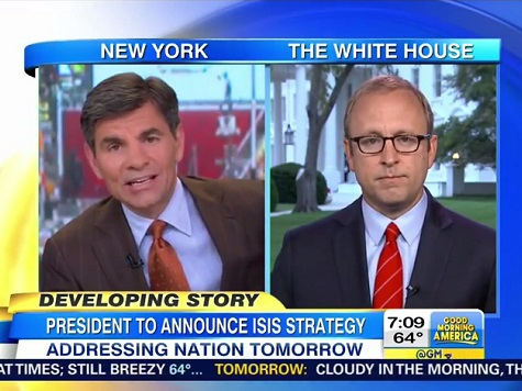 Stephanopoulos: Obama Facing 'Real Popularity Problems' on Foreign Policy
