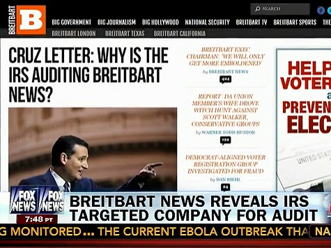 Fox News: Why Aren't Any Liberal News Organizations Audited?