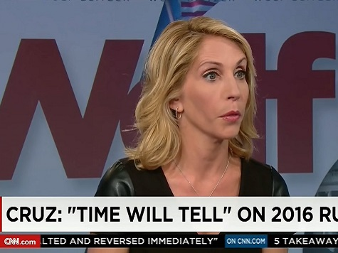 CNN's Dana Bash: Ted Cruz 'Running for President'