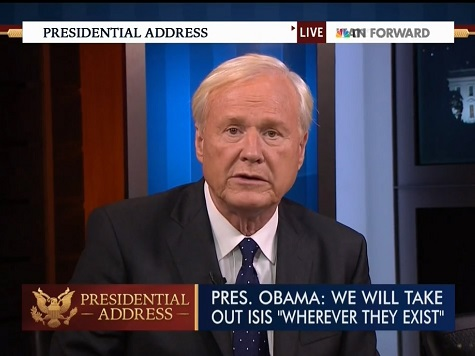 Chris Matthews: Obama's ISIS Speech Not 'Sufficient'