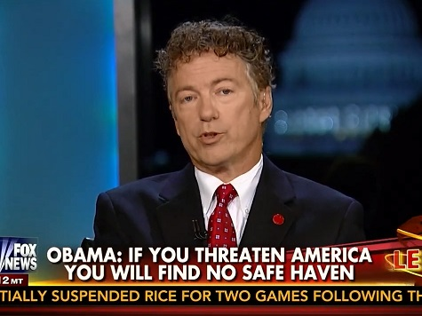 Rand Paul: US Didn't Create Thousand-Year-Old ISIS Conflict