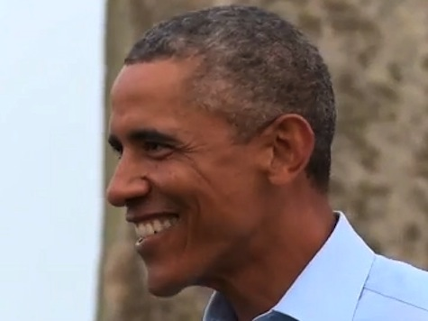 Watch: Obama Wish He Could 'Cleanse His Mind' While The Sun Rises