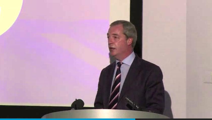 UKIP's Farage Urges Scotland to Vote No