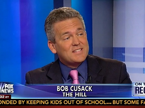 'The Hill' Editor Bob Cusack: Red State Dems Don't Want Obama Near Them