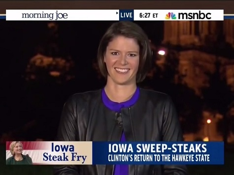 MSNBC's Hunt: Some Iowa Dems Still Looking for Alternative to Hillary