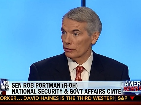 Rob Portman: Obama 'First Measured Steps' on ISIS 'a Good Thing for the Country'