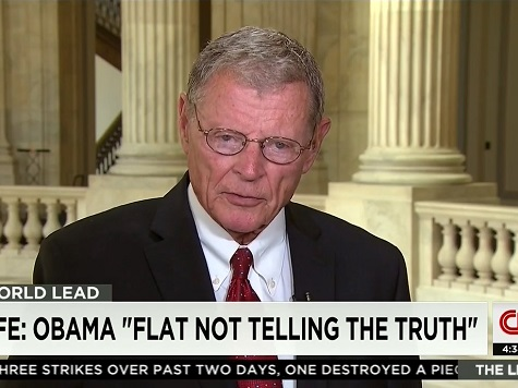 Inhofe: Obama 'Not Telling the Truth' About ISIS