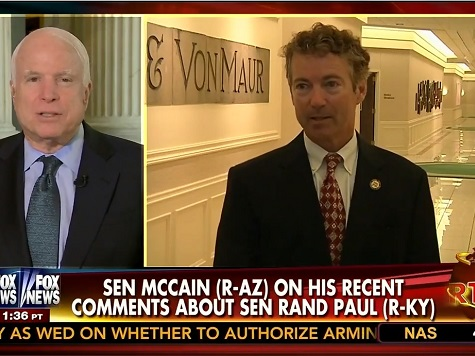 McCain: Cruz 'Pretty Strong' on Foreign Policy, Attacks Rand