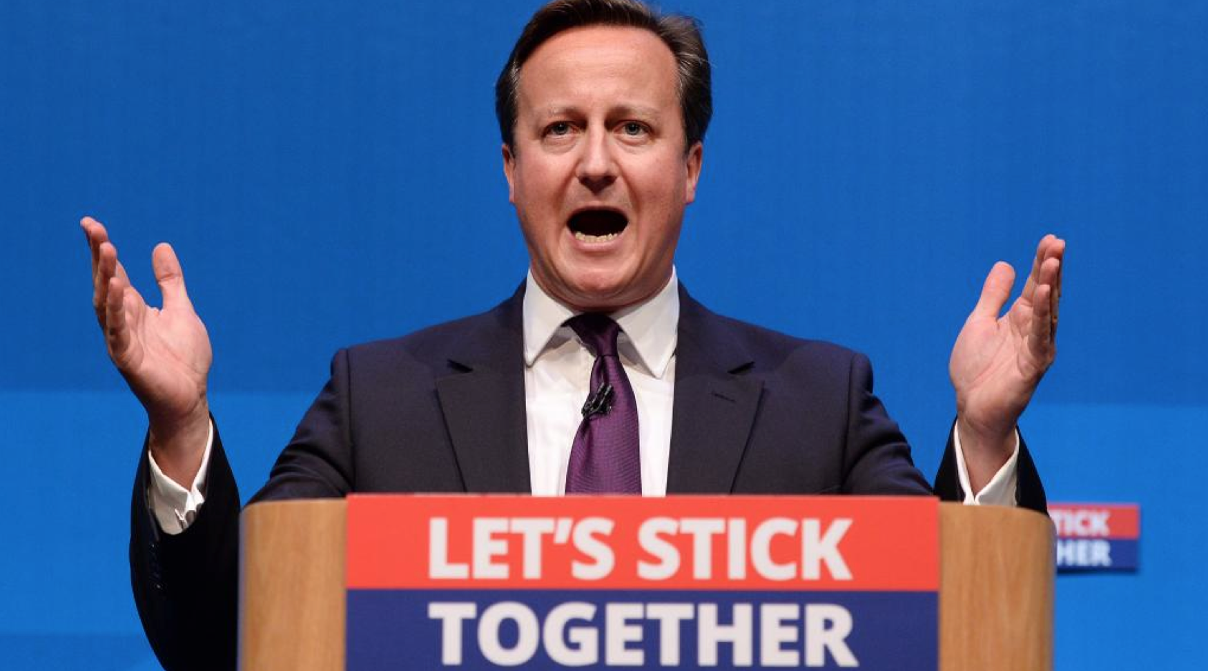 David Cameron Pleads With Scots to Vote No to Independence