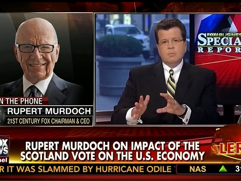 Rupert Murdoch: If Scotland Votes to Split from UK, Cameron Will Have to Go