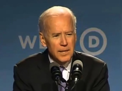 Biden Touts Packwood at Women's Conference