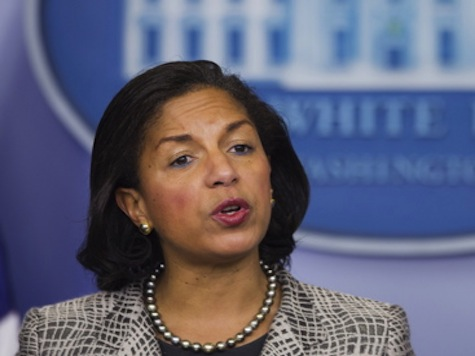 Rice Bolts During Intense Press Questioning Over Obama's Syrian Air Strikes