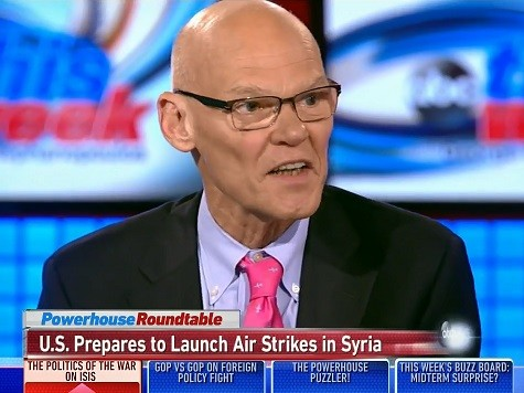 Carville Argues 13 Years from Now, We'll Still Be Bombing Muslims