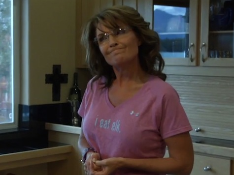 Watch: Breitbart's Pollak Visits with Sarah Palin at Her Home in Wasilla
