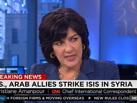 CNN's Amanpour: US 'Non-Intervention' Allowed ISIS to Flourish