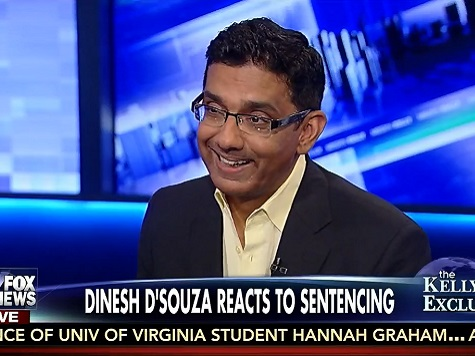 D'Souza: 'I've Got a Big Smile on my Face'