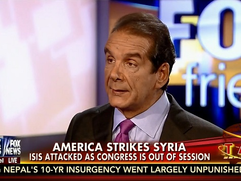 Krauthammer to Obama: Don't Broadcast Your ISIS Strategy, for God's Sake
