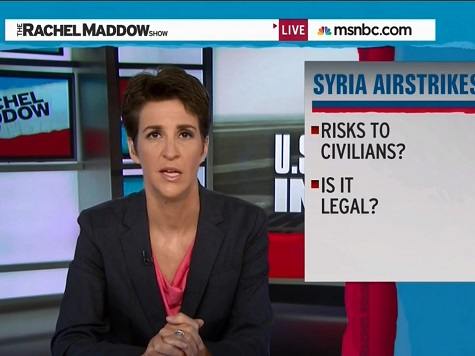 MSNBC's Rachel Maddow Questions Obama's Airstrikes: 'Is It Legal?'