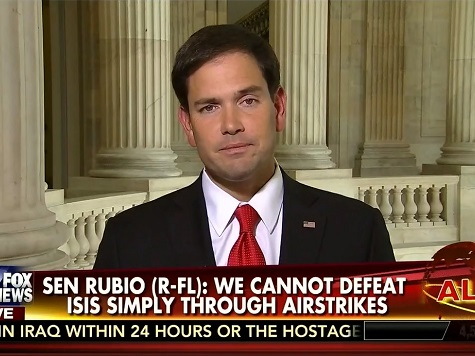 Rubio: 'Very Real Possibility' We'll Need Combat Troops to Fight ISIS