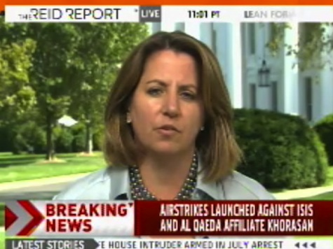 WH Spox: Imminent Threat Gave Legal Authority for Syria Air Strike