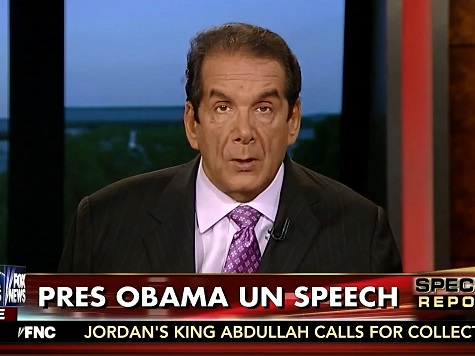 Krauthammer: Obama UN Speech 'a Continuation of the Apology Tour'
