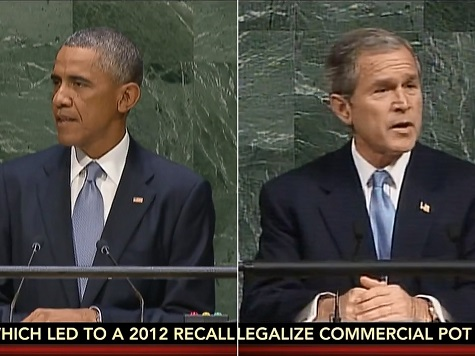 Watch: Megyn Kelly Matches Up Obama UN Speech Rhetoric with Bush in 2001
