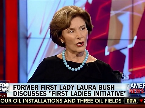 Laura Bush: When Women Left Out 'You Usually See Failing Countries'