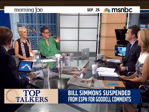'Morning Joe' on ESPN Simmons' Suspension: 'Made Him More of a Hero Than He Is Already