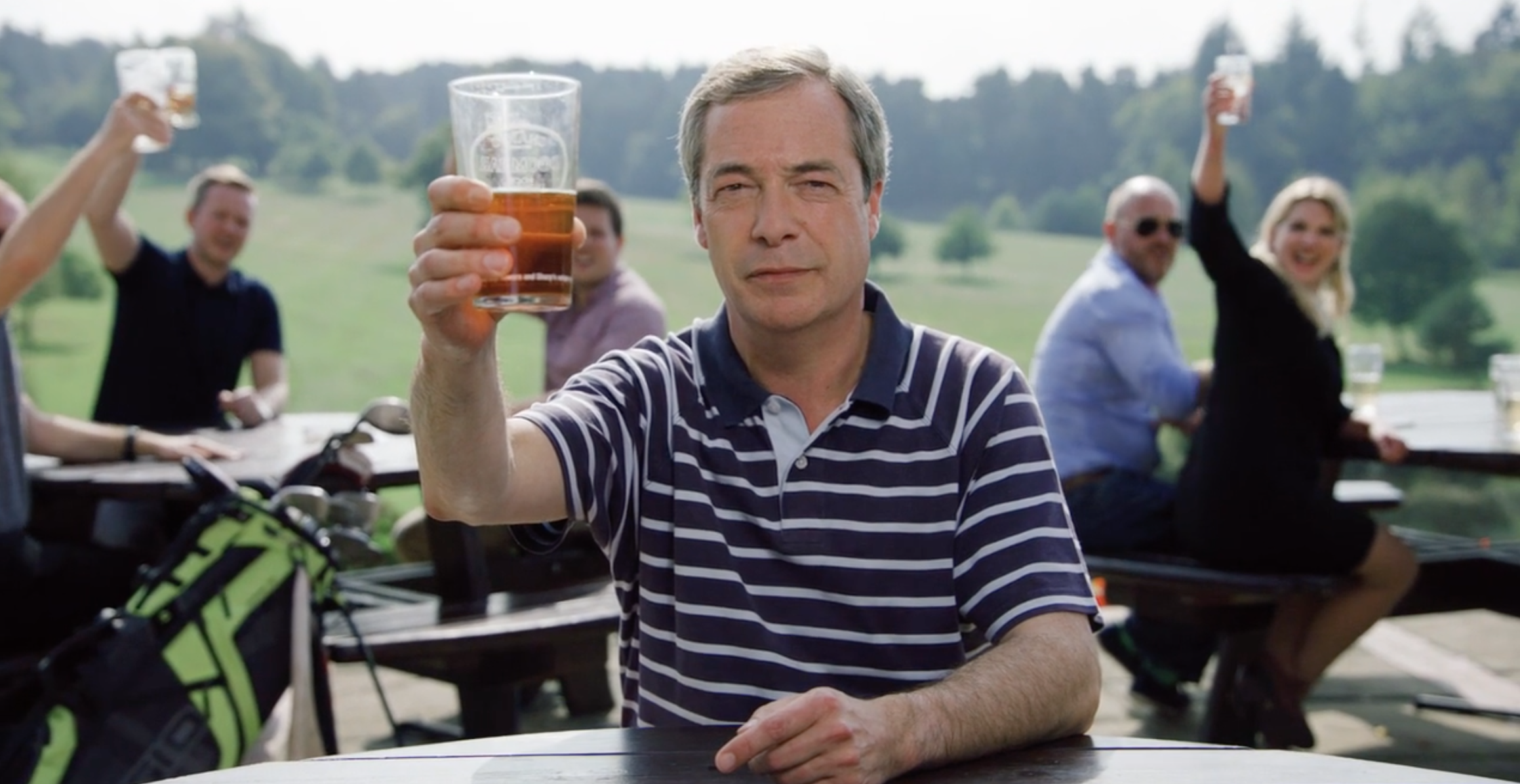 Nigel Farage's Paddy Power Ryder Cup Commercial