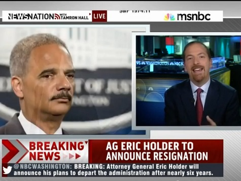 Chuck Todd: Eric Holder 'a Very Non-Political Person'