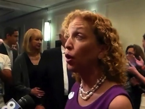 Watch: Wasserman Schultz Also Accused FL Gov Rick Scott of Giving Women 'Back of His Hand'