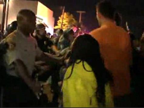 Watch: Ferguson Unrest Re-Erupts