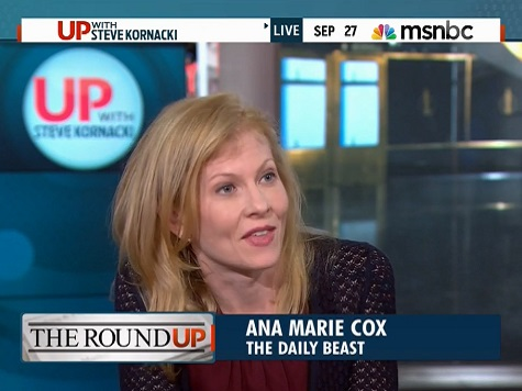 Ana Marie Cox: Holder Worst AG for Journalists in Decades