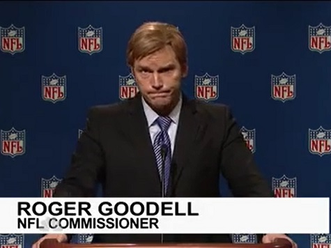 SNL Mocks Goodell and Ray Lewis