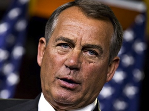 Boehner: Happy to Call Back Congress for War Resolution Vote if Obama Presents One