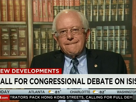 Bernie Sanders: Saudi Arabia 'Laughing All the Way to the Bank' while US takes on ISIS