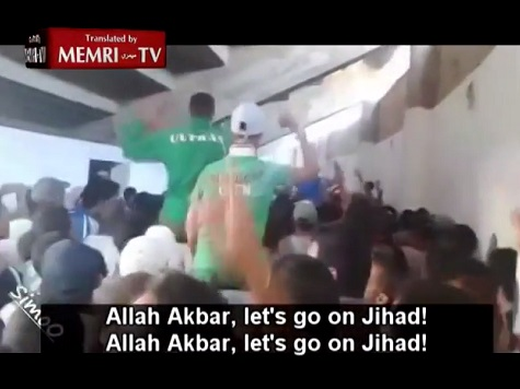 Watch: Moroccan Soccer Fans Cheer for ISIS