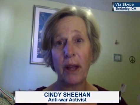 Cindy Sheehan: Pelosi, Dem Leadership Reverse Racists, Only Support Obama Because He Is Black